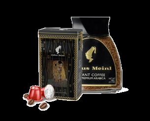 מארז חג- 40 קפסולות במארז חגיגי + קפה נמס